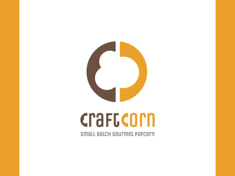 Craft Corn logo popcorn