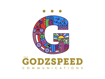 Godzspeed logo \ branding illustration