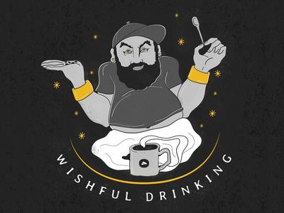Wishful Drinking B&W
