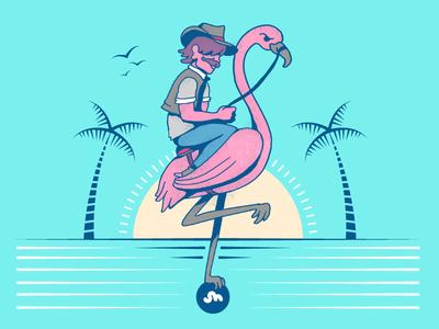 Flamingo Rider
