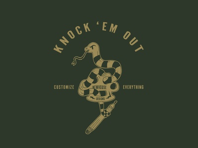 Knock Em Out Tee