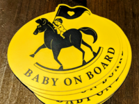 Sticker Delivery! Baby On Board