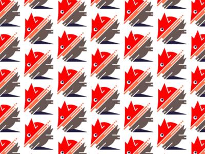 Quick doodle pattern