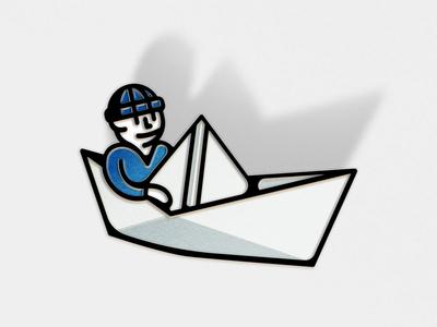 Paper Sailor, Blue