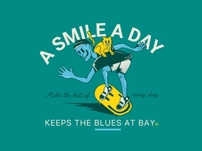 A smile a day...