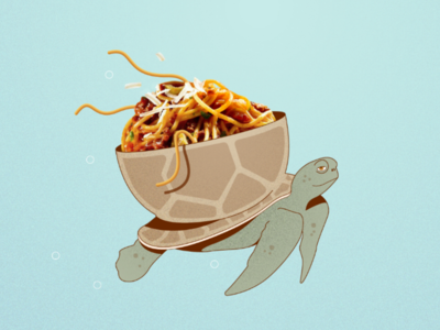 Pasta and Turtle 🐢