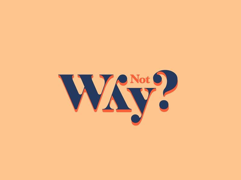 Why not? y logo idea font typography why y