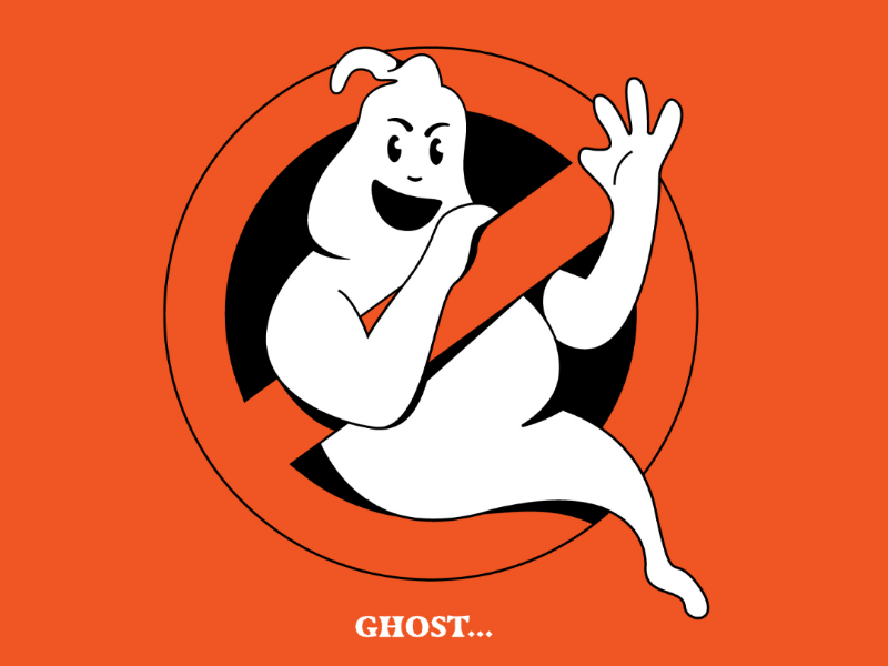 Ghost... ghostbusters illustration inktober inktober 2019 ghost