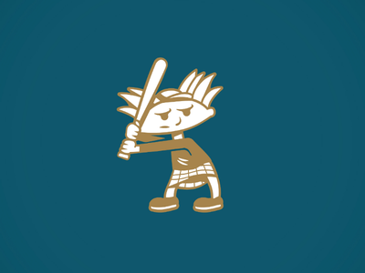 Hey! ... 90s bat baseball style shot doodle graphic design illustration hey hey arnold