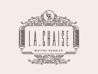 Ornate Barber Logo