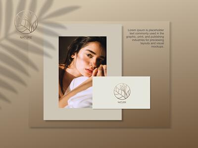 nature logo ux vector ui typography logo illustration icon design branding app