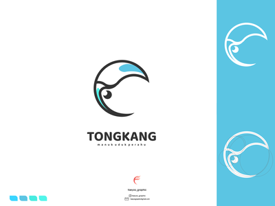 tongkang logo ux vector ui typography logo illustration icon design branding app