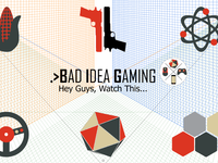 Bad Idea Gaming YouTube Channel Art