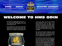 HMS Odin Website