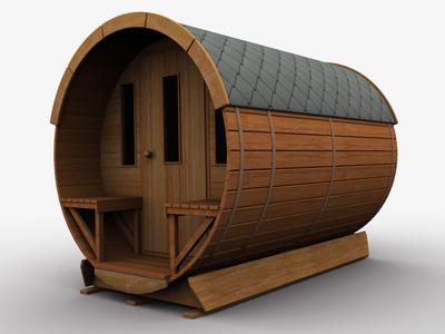 3d Garden Wooden Shed