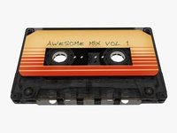 """Cassette Tape """"Awesome mix"""""""