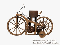 "3d Daimler ""Riding Car"""