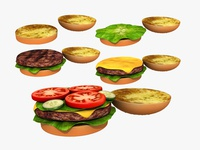 Cheeseburger - 3d Moldel