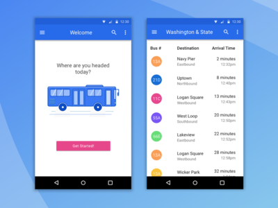 Android Bus App