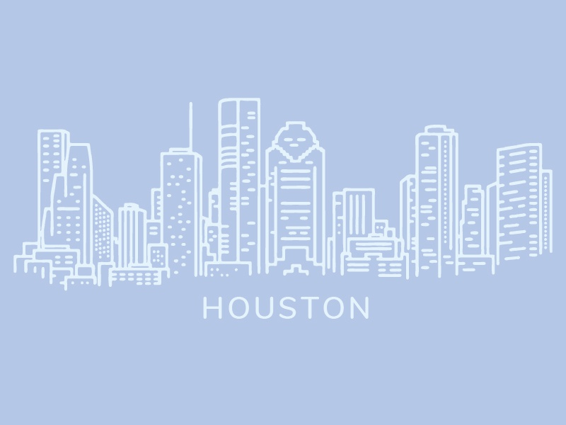 Houston houston illustration vector