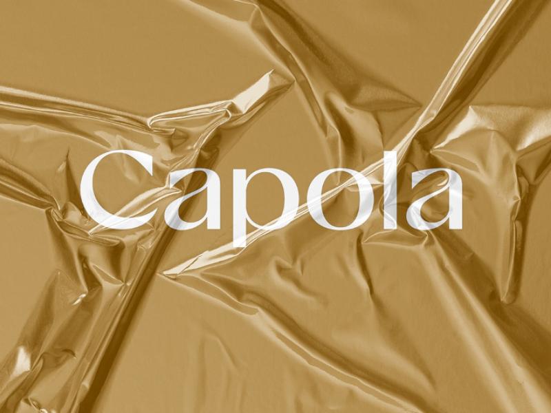 Capola Fshn logo type letters mark