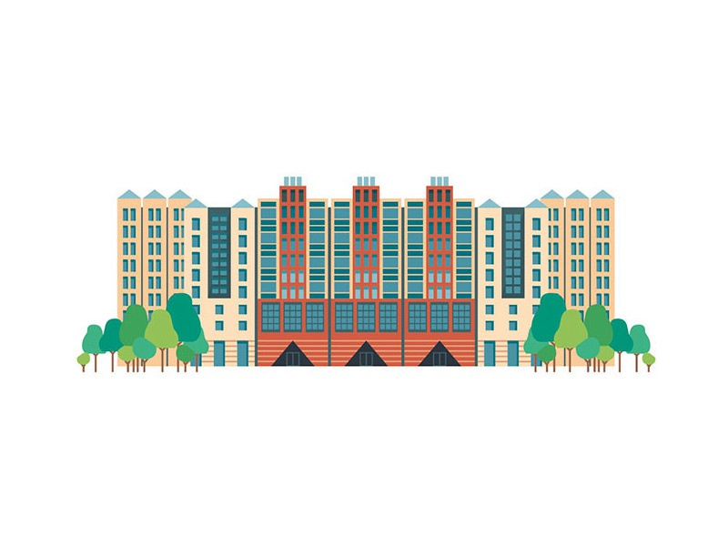 Disney Hotel New York flat design mickey mouse castle hotels disney paris disneyland