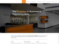 Website Template Mockup