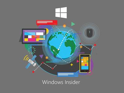 Windows Insider t-shirt Design concept 1  microsoft tech t-shirt windows