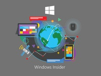 Windows Insider t-shirt Design concept 1