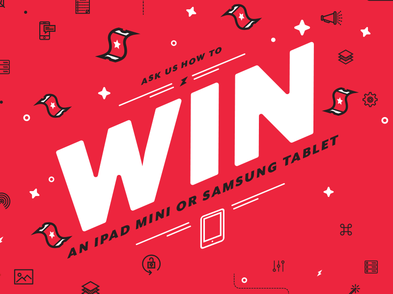 Raffle Draw Poster by Kevin Carey for RedBit Development on Dribbble