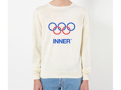 Inner Olympics sports olympics logo fresh cool kikillo inner skate fashion style streetwear illustration