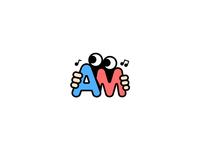 Allright Music finished logo :>