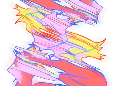 Paxpax COmBo logo goods apparel kikillo fashion abstract art abstract color cute illustration
