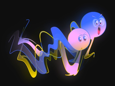 gradient rave! fantasy adobe illustrator gradient clean kikillo color cute illustration