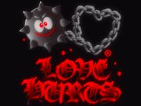 love hurts 💔 t-shirts