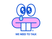 We need to talk® Sweatshirt