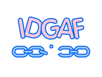 IDGAF® Chain T-Shirt!