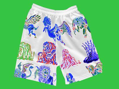 Nightmare Krew® Shorts shop fashion streetwear illustration kikillo clothing apparel goods shorts