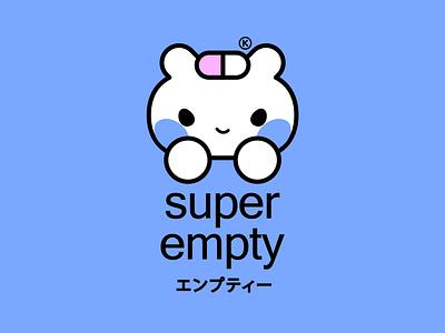 SUPER EMPTY® Sweatshirt character clothing happy apparel kawaii fashion kikillo streetwear color cute illustration