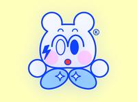JK 2.56 logo character fashion kikillo streetwear color cute illustration