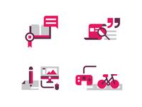 Creative CV Icon Set