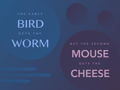 Birds vs. Mice
