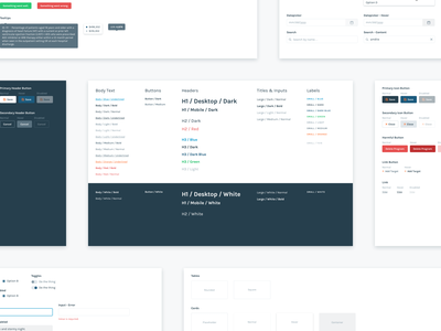 Component Library component library product sketch