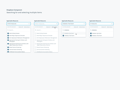 Searchable Dropdown Component sketch component library ui ux