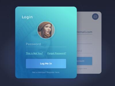 Login / Register