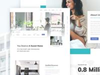 Condo Rental App. - Website Landing