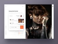 Pictures portfolio app.