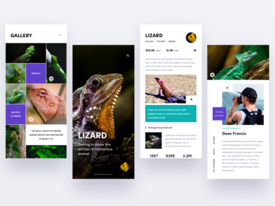 Animals encyclopedia app details bio picture photo video profile gallery animal app hiwow