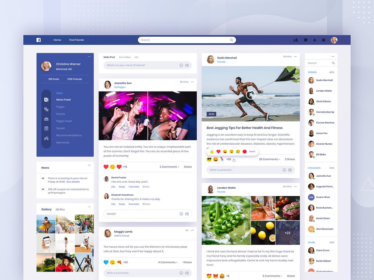 Facebook Passwortwiederherstellun