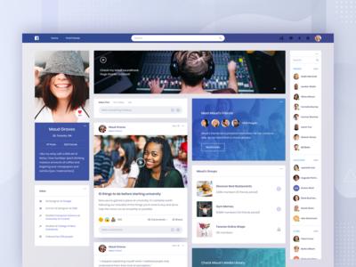 Facebook Concept - Profile